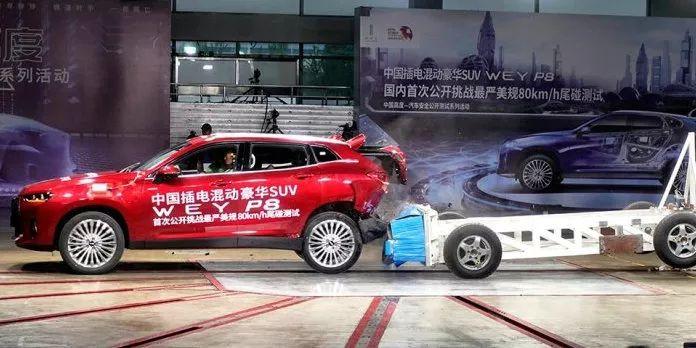 WEY P8,一辆只要开过就会上瘾的新能源车